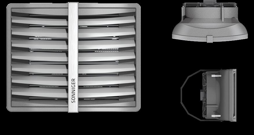 Wodna nagrzewnica powietrza Heater