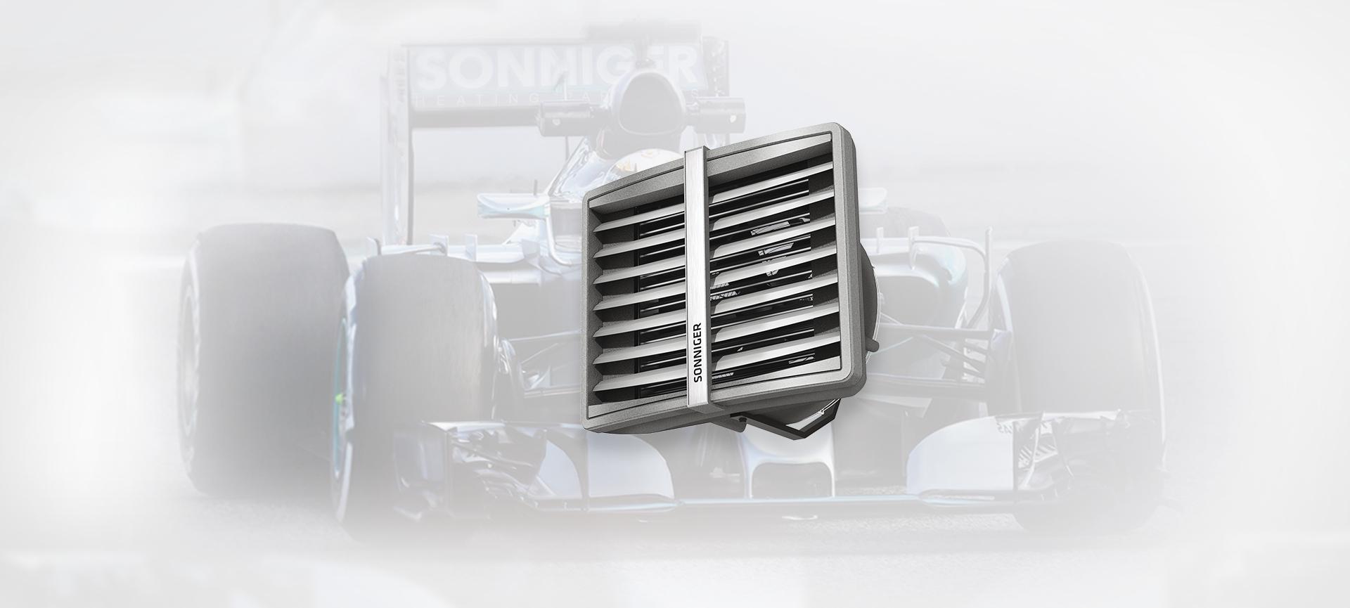 Teplovodný ohrievač Heater - SONNIGER